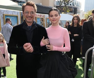 selena gomez, robert downey jr, and celebrity image