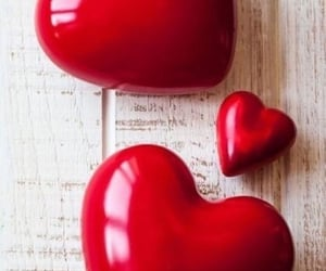 heart, red, and valentine image