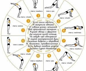 yoga and sun salutation image