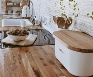 home design, home interior, and kitchen image