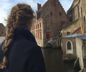 architecture, city, and girl image