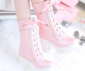 aesthetic, rose, and shoes image