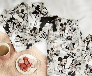 minnie mouse, pjs, and sleepover image