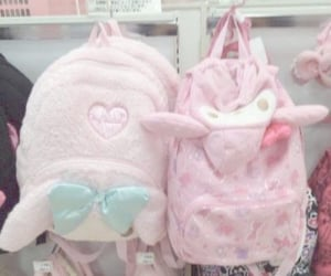 aesthetic, bags, and hello kitty image
