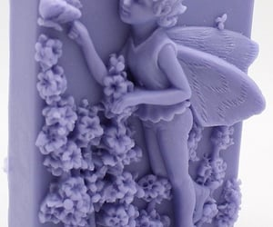 angel, bath, and beauty image