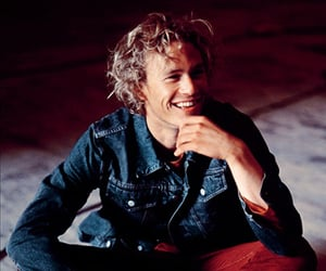 heath ledger, actor, and smile image