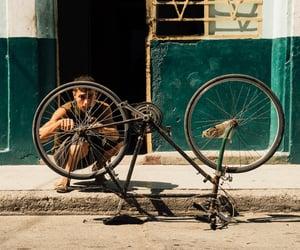 aesthetic, bicycle, and boy image