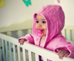 baby, pink, and child image