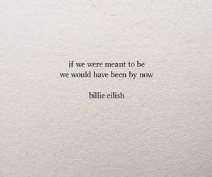 quotes, billie eilish, and Lyrics image