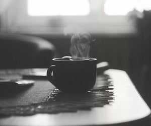 coffee, black and white, and photography image