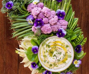 dip, vegetarian, and foodstyling image