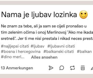 balkan, tekst, and ljubavni citati image