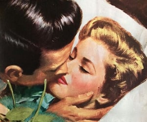 amour, art, and kiss image