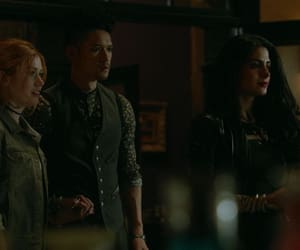 actress, clary fray, and magnus bane image