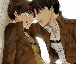 levi, rivaille, and eren image