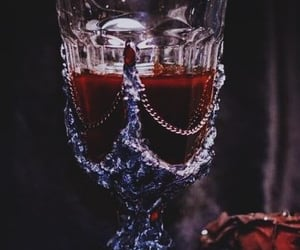 blood, vampire, and aesthetic image