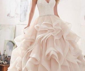 dress, dresses, and promdress image