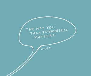 blue, quote, and selflove image
