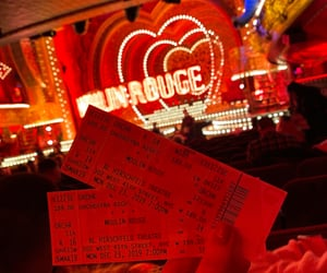 broadway, moulin rouge, and theater image