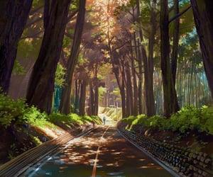 art, nature, and anime image
