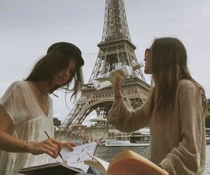 alcohol, girl, and parís image