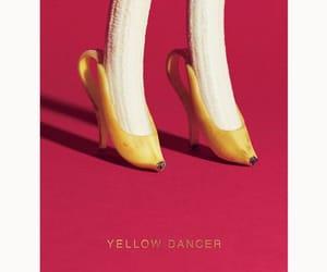 art, banana, and design image