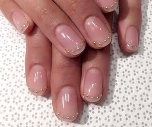 nail art, acrylic nails, and simple nail arts image