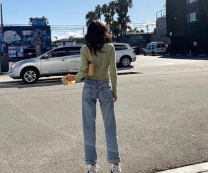 jeans, long legs, and levis image