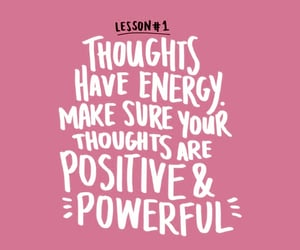 quotes, pink, and thoughts image