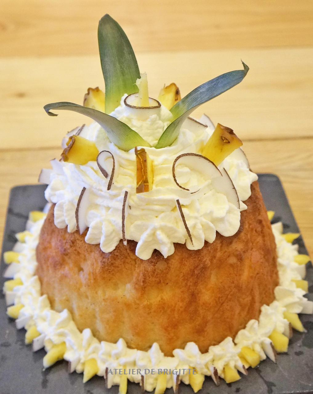 ananas, dessert, and french pastry image