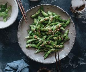edamame, food, and recipe image
