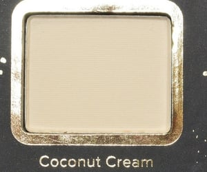makeup, beauty, and coconut image