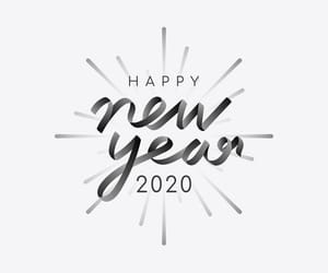 2020, article, and new year image