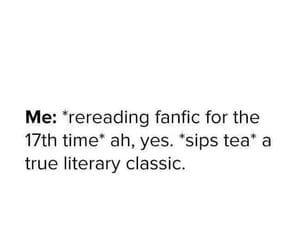 books, memes, and fanfic image