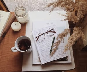tea, aesthetic, and autumn image