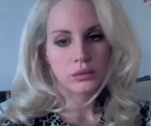 blonde, gif, and lana image