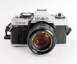 35mm, 50mm, and photo camera image