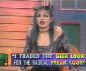 goth, alternative, and freak image