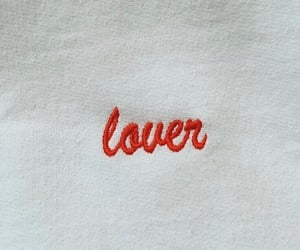 lover, red, and love image