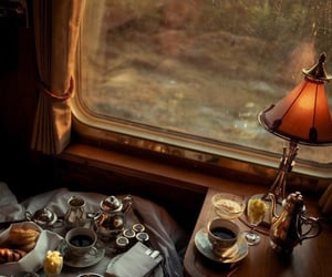 food, train, and travel image