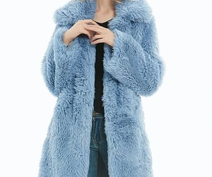 apparel, coat, and midlength image