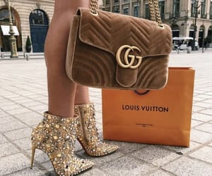gucci and Louis Vuitton image