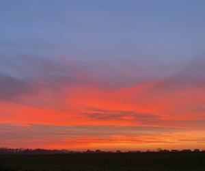 colourfull, shine, and sunset image