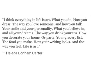 art, poem, and life is art image