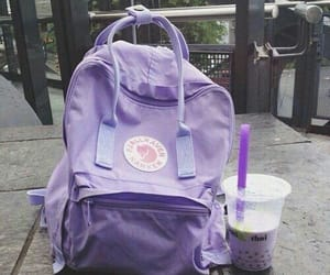 purple, backpack, and bag image