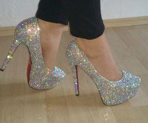 heels, high heels, and lady image