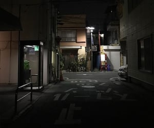 aesthetic, night, and black image