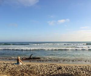 beach, boho, and california image