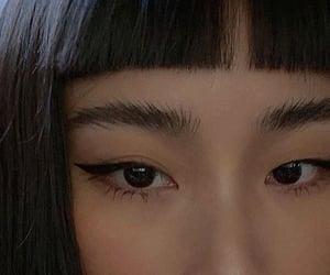 asian, girl, and bangs image