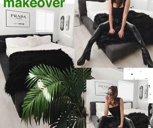black and white, home decor, and interior design image